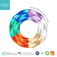 BARDI Lampu Smart Home LED Strip Wifi RGB WW 2 Meter