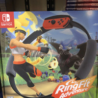 Nintendo switch ring fit / ring fit adventure