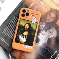 CASE IPHONE VAN GOGH 7/8/S/PLUS+/X/XR/XS/11/PRO/MAX/SE2020 - Orange