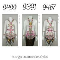 9187 Indah Kebaya Modern Encim Kutubaru Bali Murah Batik Bordir Brokat
