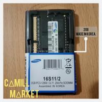 SODIMM Samsung DDR 3 2GB PC 12800