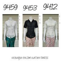 9147 Indah Kebaya Modern Encim Kutubaru Bali Murah Batik Bordir Brokat