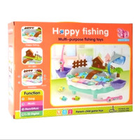 mainan happy fishing pancingan ikan air