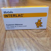 Probiotik-Meningkatkan Imunitas & Kesehatan Pencernaan, Interlac Lemon