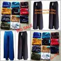 PROMO 3 pcs Celana Kulot Wanita/spandex Tebal, adem, nyaman dipakai - Pilih Warna, Standar