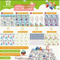 Playmat bright crown / Karpet lipat anak bermain evamat