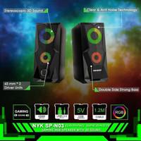 Nyk SPN-03 Speaker Gaming Rgb 3D Sound