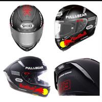 Murah Sticker Helm Stiker Cutting Helem Keren