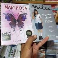 Paket 2 Novel Mariposa dan Milea (Kertas Bookpaper)