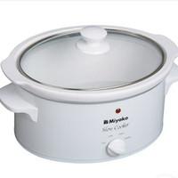 Miyako Slow Cooker SC-630 - 6 Litre - Putih/White