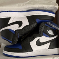 Nike Air Jordan 1 High OG GS Game Royal Toe New Original size 3.5 35.5