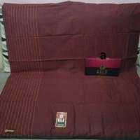 Sarung Tenun Mangga Gold Polos Warna