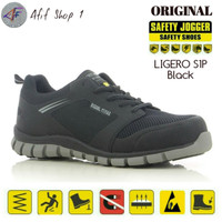 Sepatu Safety Jogger Ligero S1P SRC Black - Safety Shoes Ligero