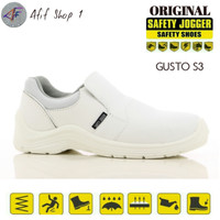 Sepatu Safety Jogger GUSTO S2 Original - Putih