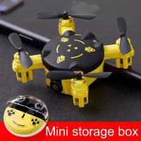 Mainan Mini Drone Remote Control Quadcopter Helikopter RC Mainan Anak