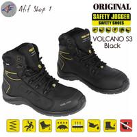 Sepatu Safety Jogger Volcano S3 BLACK SRC ORIGINAL safety Shoes jogger