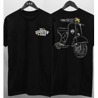Kaos Distro Skuter Rider / T-shirt distro Pria Combed 30s