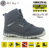 Sepatu Safety Shoes Jogger ABSOLUTE S1P NAVY Original / Joger Absolute