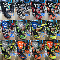 Sepatu boots balap motor cross trail adventure rnl not gordons fox