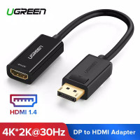 CONVERTER UGREEN DISPLAY PORT male TO HDMI FeMale ADAPTER 4K macbook