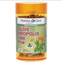 healthy care olive propolis 2500 plus lelief 180 tablet
