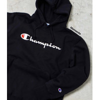 Champion Script Hoodie Black Original