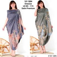 Kaftan Satin Premium Model Terbaru / Batik Dress Unik