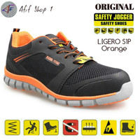 Sepatu Safety Jogger Ligero Orange - Safety Shoes Joger Ligero