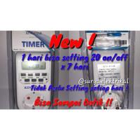 KingStar Stop Kontak Timer Digital / Colokan Listrik/King Star