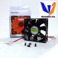 Fan casing / fan cpu / cooler fan cpu hitam 8 cm