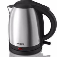 PHILIPS Tea Boilling Kettle HD 9306 Teko listrik stainless Pemanas air