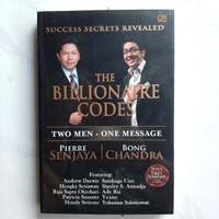 Buku The Millionaire Code by Bong Chandra & Pierre Senjaya