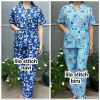 baju tidur piyama wanita/cwe katun karakter murah