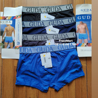 FLASH SALE1 3pcs Boxer cowok Import Katun high Quality