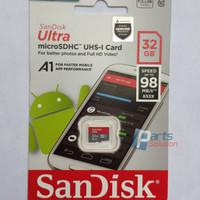Memory Micro SD Card SanDisk Ultra microSDHC Class 10 32GB 98MB/s