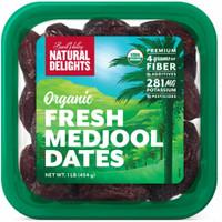Organic Fresh Medjool Dates Kurma U.S 454 gram