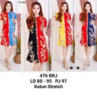 Dress Batik Wanita /Bodycon Batik Dress