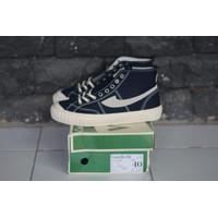 Sepatu Compass Vintage 98 Hi Navy