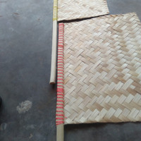 Kipas Sate Bambu Besar
