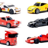 LEGO Shell Ferrari Full Set 2014 V-Power Series I