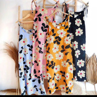 Overall Meghan Panjang (Maxi Dress Bangkok) fit to XL Bahan twiscone
