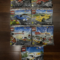 Lego Shell V-Power Complete Set RARE seri 1&2 2012 2014