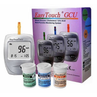 Easytouch GCU ( alat test gula , asam urat & kolesterol )