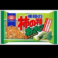 Kameda Seika Kakinotane wasabi 182 gram / snack kekinian jepang