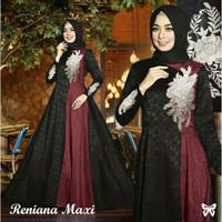 Baju Gamis Wanita Reniana maxi, baju muslim wanita terbaru