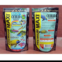 Pelet Akari Cichlid Premium MAXI tropical 100 Gram