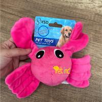 Ocean squeak toy series Mr. tony crab