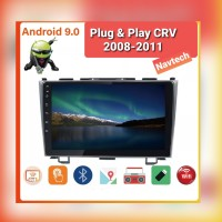 Head unit android 9 inch oem honda crv gen 3 2008-2011 plug & play