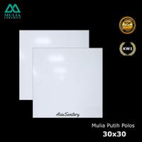Keramik Lantai 30x30 Putih Polos kw1
