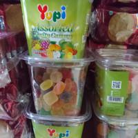 yupi toples permen jeli jelly gum 400gram